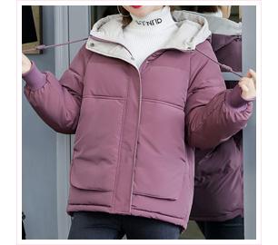 秋冬韓版羽絨棉麵包外套