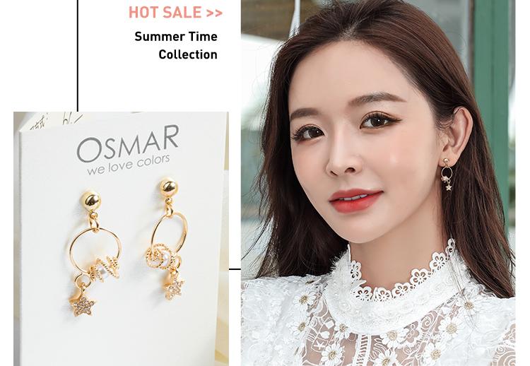 韓版潮流新時尚,個性簍空圓圈搭配珍珠與星星,免穿耳洞黏貼式設計,輕鬆展現獨特個性的自己。