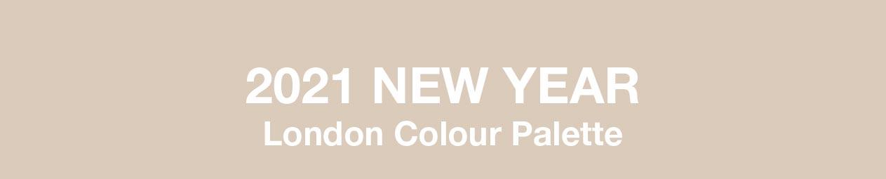2021 new year London Colour Palette