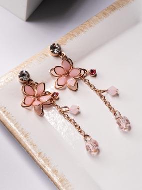 清透粉嫩雙層櫻花