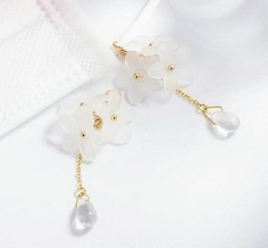 立體小雛菊口罩吊飾
