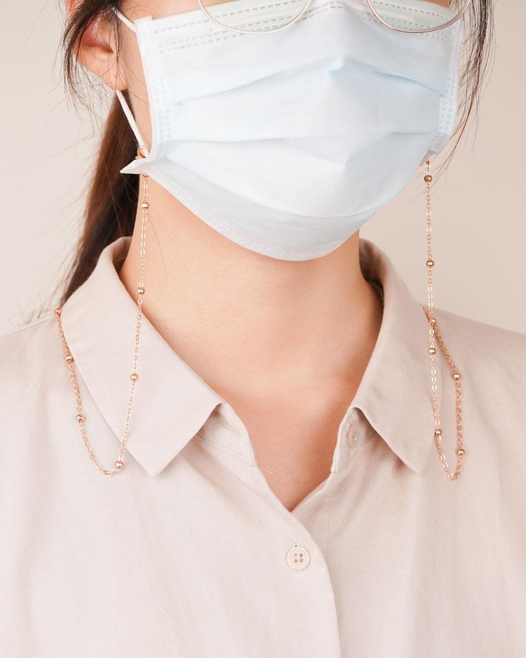 你與它的浪漫連結口罩鍊/眼鏡鍊 模特兒展示