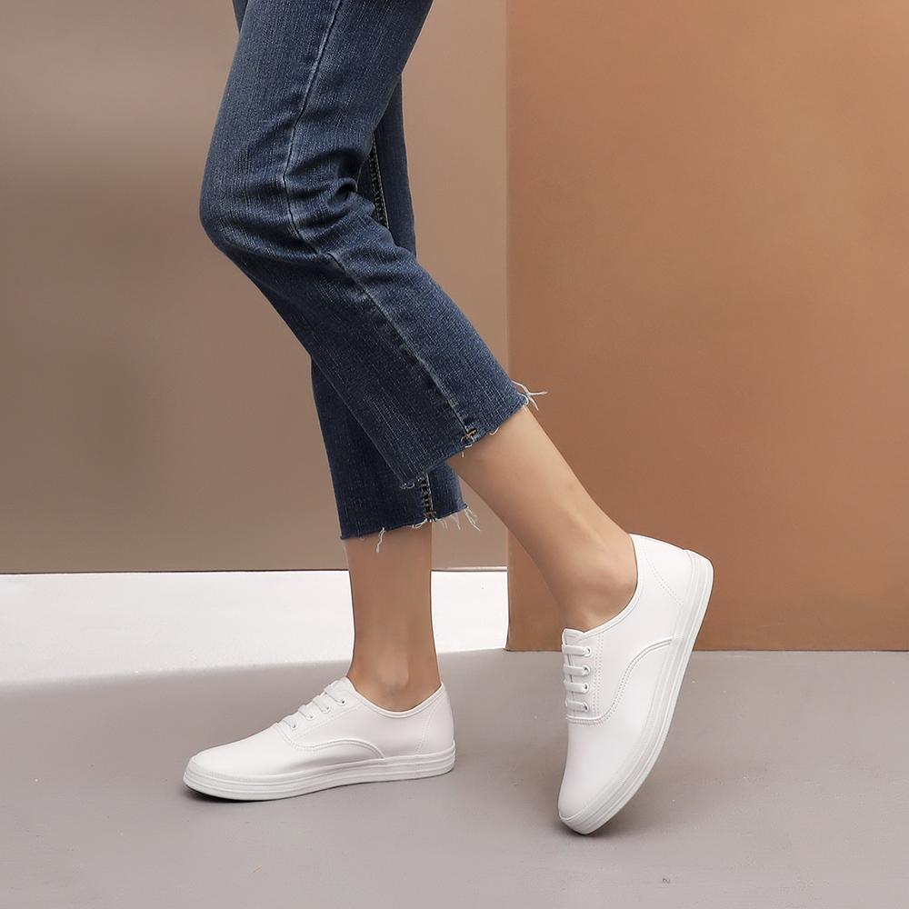 MIT台灣製-日常素面彈性鞋帶休閒鞋