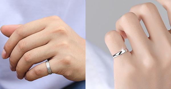 一般大家常說的尾戒也就是小指戴著亮眼的戒指,戒指戴法意義上也表示單身的意思