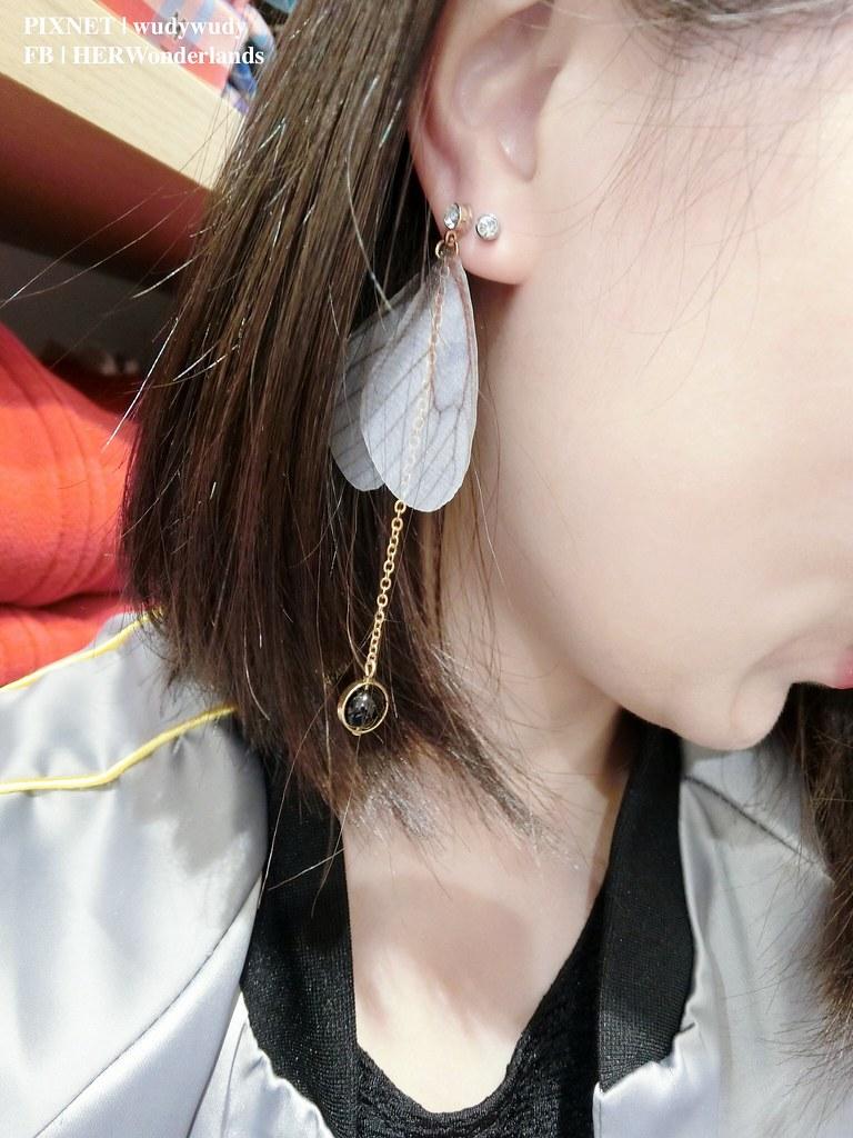 絢彩家黏貼式耳環24