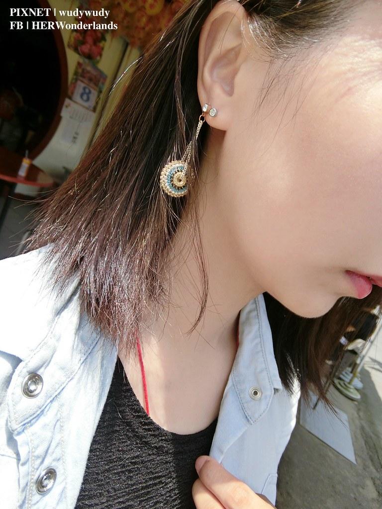 絢彩家黏貼式耳環32